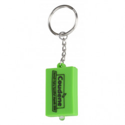 SOFT PVC LAMP KEY RING