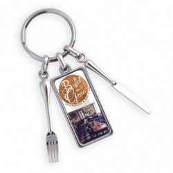 ZINC ALLOY KEY RING...