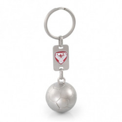FOOTBALL OR RUGBY KEY RING 3D