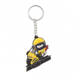 SOFT PVC KEY RING -  3D 1 SIDE