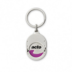 TOKEN KEY RING AT30 METAL