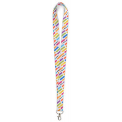 SUBLIMATION LANYARD - FRONT...
