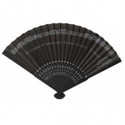 PLASTIC AND FABRIC FAN