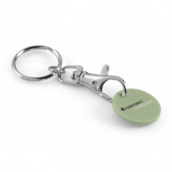 CLASSICAL TOKEN KEY RING  +...