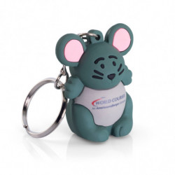 SOFT PVC KEY RING - FULL 3D